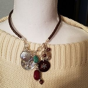 Jewelry - 4 for $20 Statement necklace, turquoise